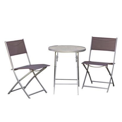 ensemble de mobilier balcon florenz ii 3 l ments. Black Bedroom Furniture Sets. Home Design Ideas