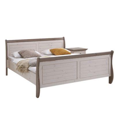 massivholzbett lyngby 180 x 200cm home24. Black Bedroom Furniture Sets. Home Design Ideas