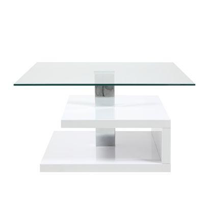 salontafel lilian met glazen plaat. Black Bedroom Furniture Sets. Home Design Ideas