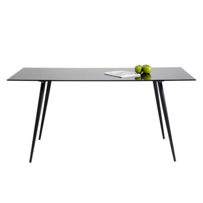 esstisch voyage glas stahl home24. Black Bedroom Furniture Sets. Home Design Ideas