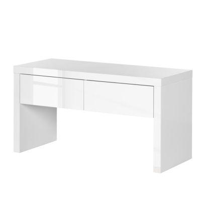garderobenbank emblaze hochglanz wei home24. Black Bedroom Furniture Sets. Home Design Ideas
