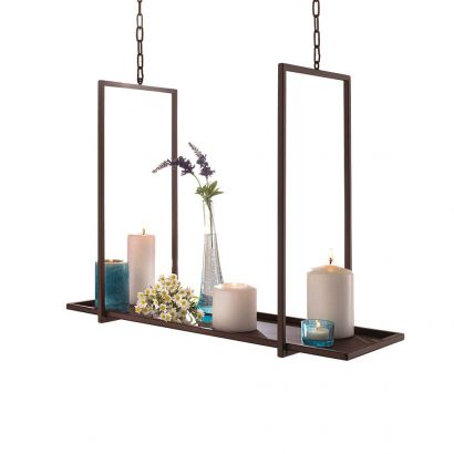 kerzentablett zum h ngen metall home24. Black Bedroom Furniture Sets. Home Design Ideas
