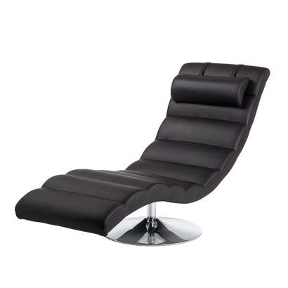 relaxliege yves kunstleder schwarz home24. Black Bedroom Furniture Sets. Home Design Ideas