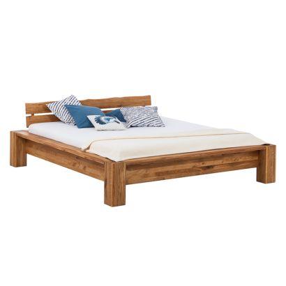 Ars natura bedframe voor een modern huis - Massief houten platform bed ...