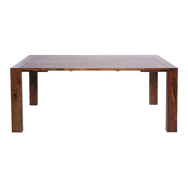 neu kare design esstisch rotes sheeshamholz massiv tisch lakiert braun home24 ebay. Black Bedroom Furniture Sets. Home Design Ideas