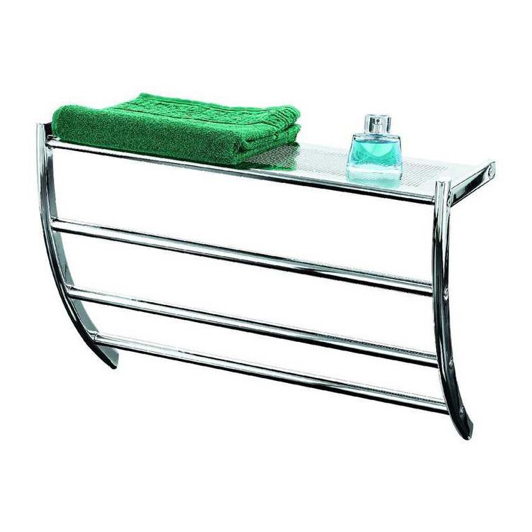 Handtuchhalter aknah metall glas home24 - Wandregal aus glas ...