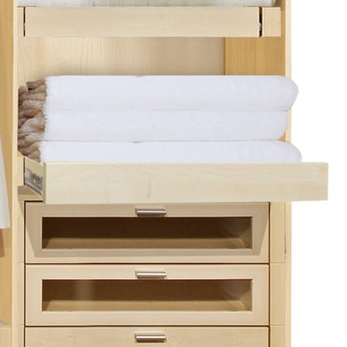 tablette coulisse pour l ment d 39 armoire large de 75 77 cm. Black Bedroom Furniture Sets. Home Design Ideas