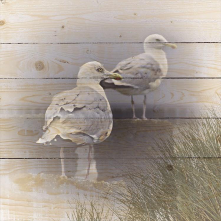 106)Een prachtige houten wanddecoratie van Artland