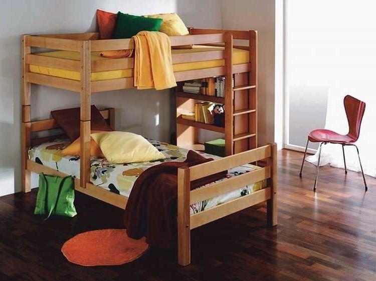 etagenbett beni massivholz buche home24. Black Bedroom Furniture Sets. Home Design Ideas