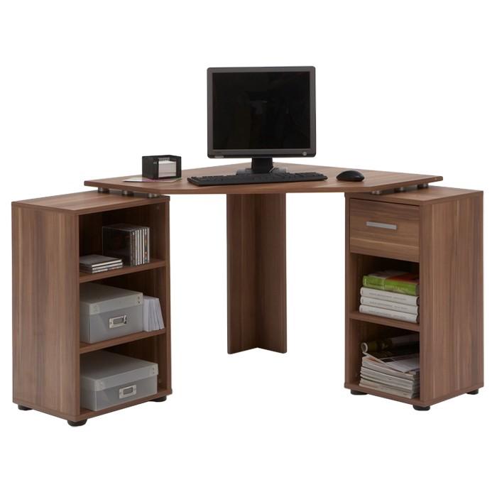 hoekbureau dubrovnik pruimenhout. Black Bedroom Furniture Sets. Home Design Ideas