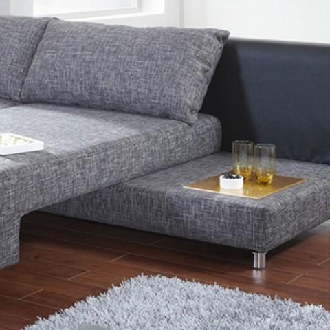 ecksofa magic mit schlaffunktion stoff kunstleder home24. Black Bedroom Furniture Sets. Home Design Ideas
