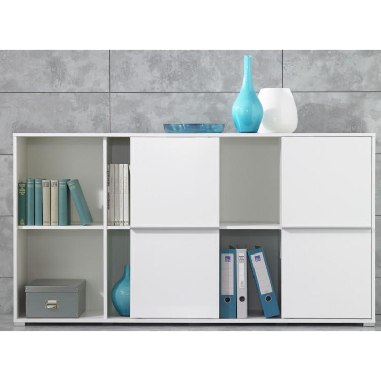 sideboard padua wei home24. Black Bedroom Furniture Sets. Home Design Ideas