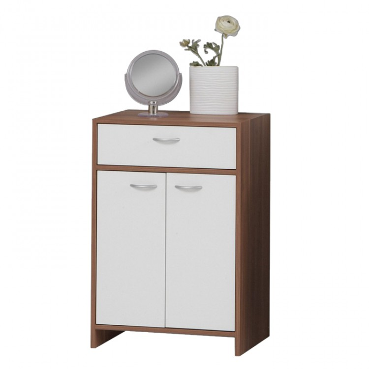 Commode stavelot couleur prune blanc for Kommode zwetschge
