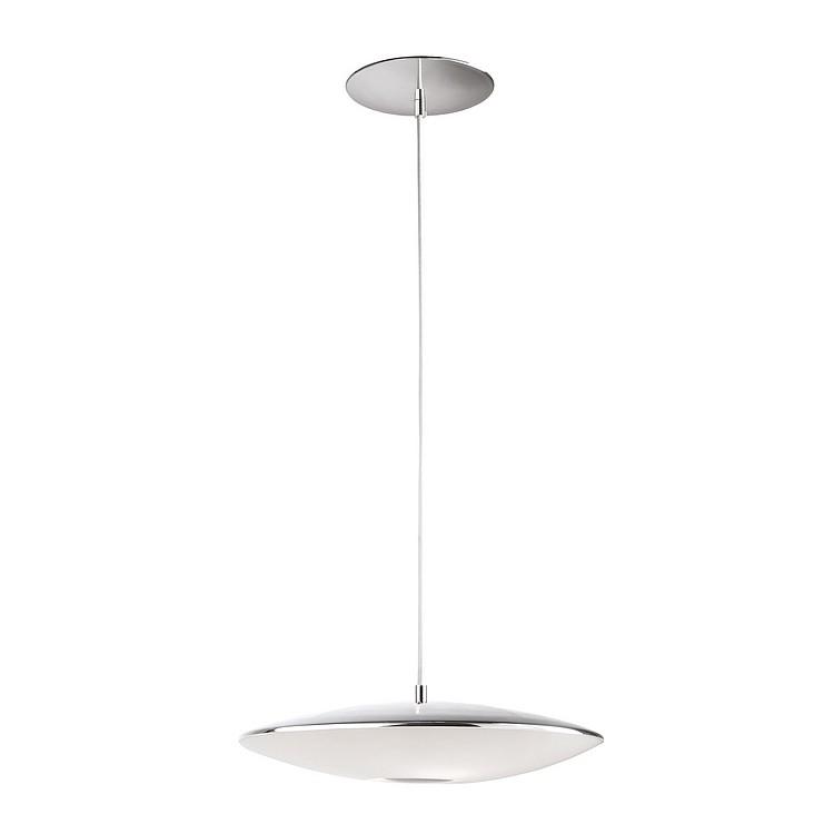pendelleuchte flat metall chrom home24. Black Bedroom Furniture Sets. Home Design Ideas