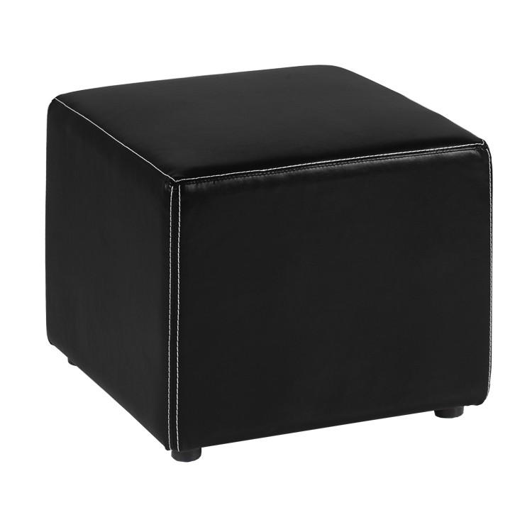 hocker merlin bezug kunstleder home24. Black Bedroom Furniture Sets. Home Design Ideas