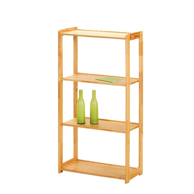 regal gina 4 kiefer massiv home24. Black Bedroom Furniture Sets. Home Design Ideas
