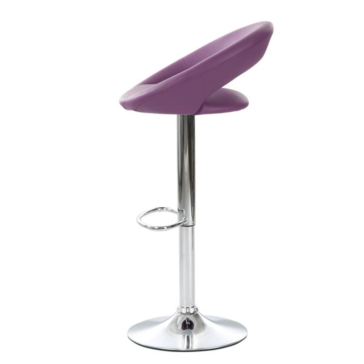 tabouret de bar hemingway violet. Black Bedroom Furniture Sets. Home Design Ideas