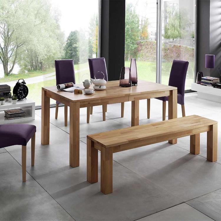 esstisch paol mit ausziehfunktion massivholz buche lackiert home24. Black Bedroom Furniture Sets. Home Design Ideas