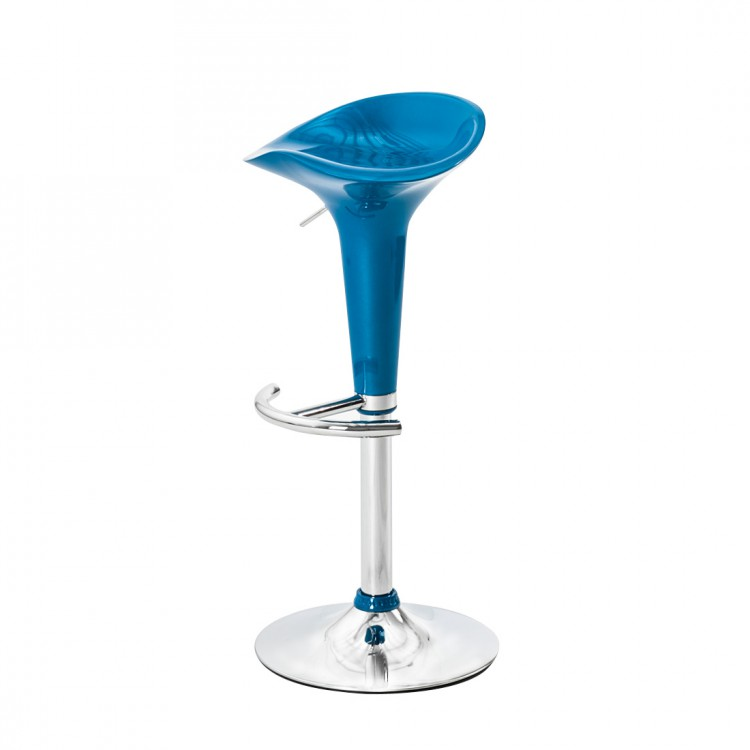 barhocker jackson 2er set kunststoff blau home24. Black Bedroom Furniture Sets. Home Design Ideas