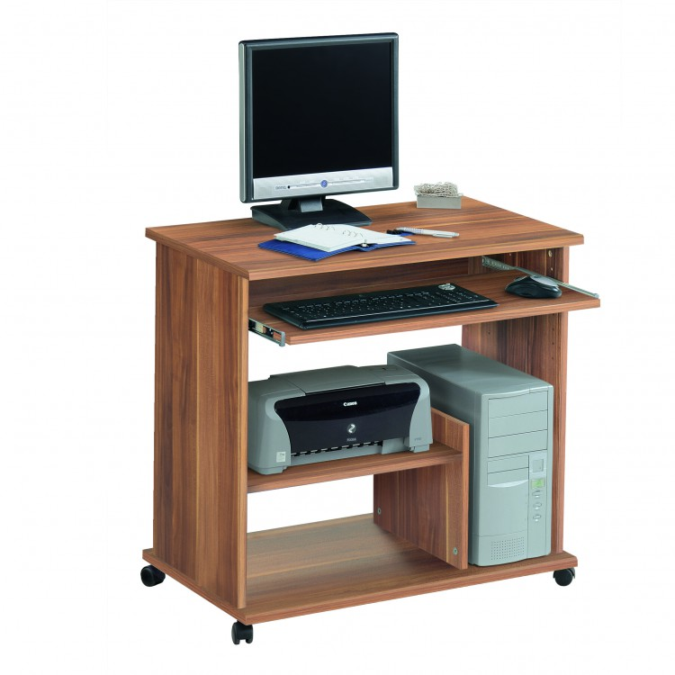 Mobilier table table pour pc for Table pour ordinateur et imprimante