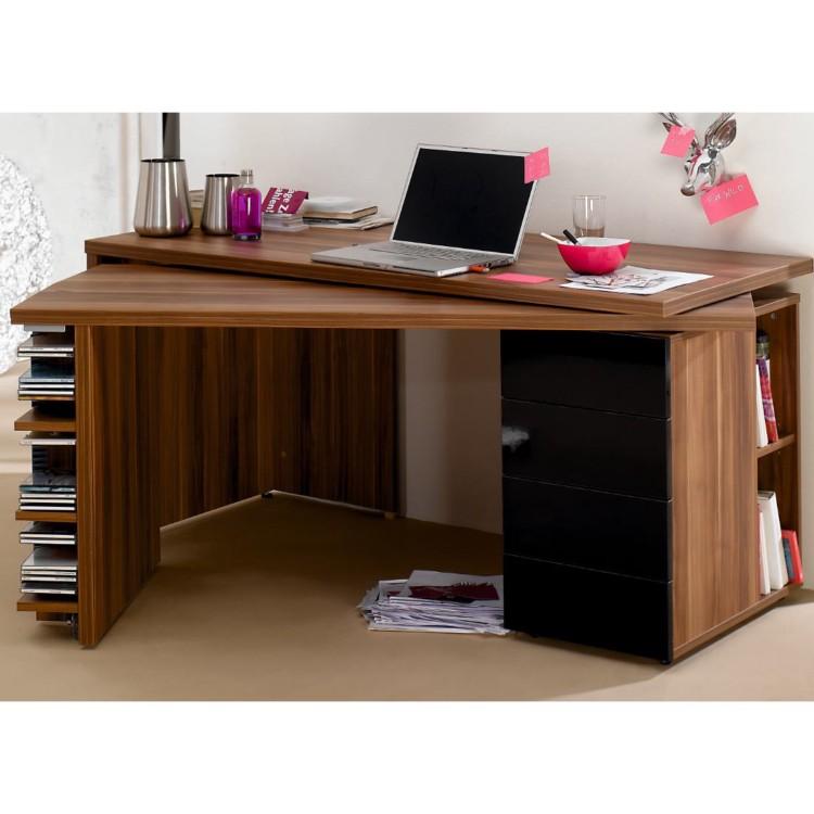 Schreibtisch ausschwenkbarer arbeitsplatte helsinki for Home24 bewertung