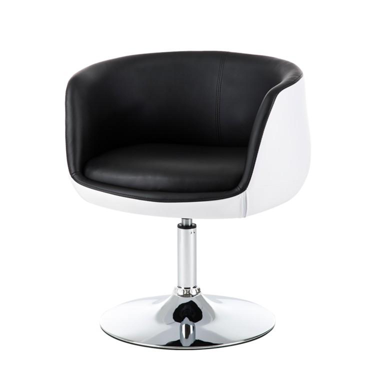 cocktailsessel perico kunstleder schwarz wei home24. Black Bedroom Furniture Sets. Home Design Ideas