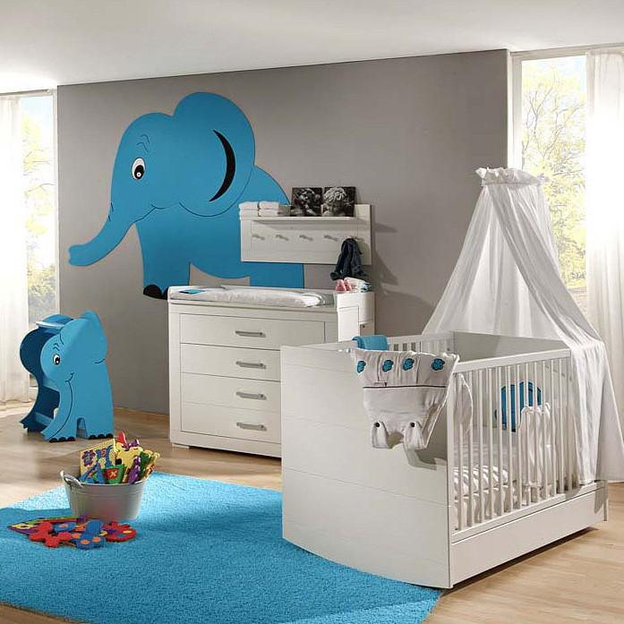 sparset mini 01 2 teilig babybett wickelkommode home24. Black Bedroom Furniture Sets. Home Design Ideas