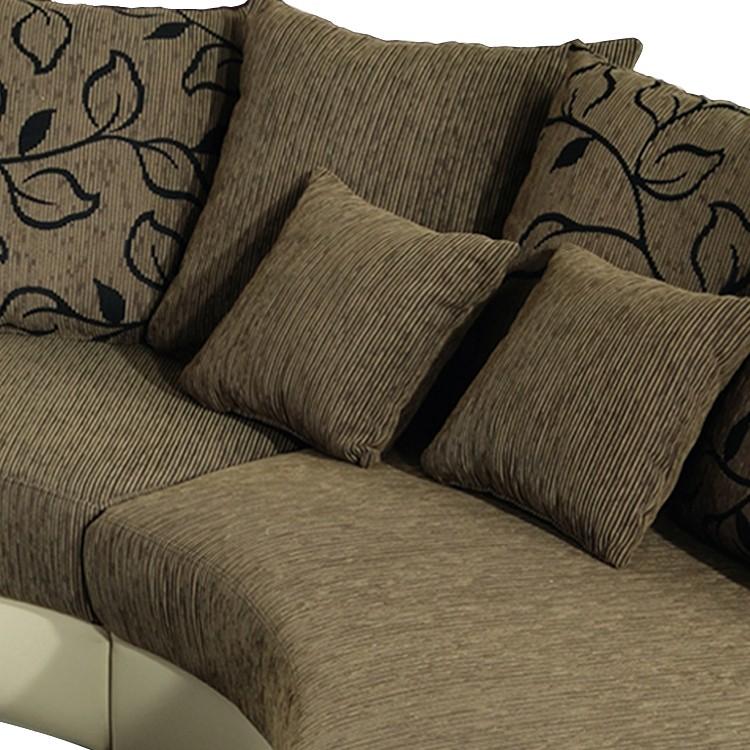 bari sofa mit kuschelecke und ottomane home24. Black Bedroom Furniture Sets. Home Design Ideas
