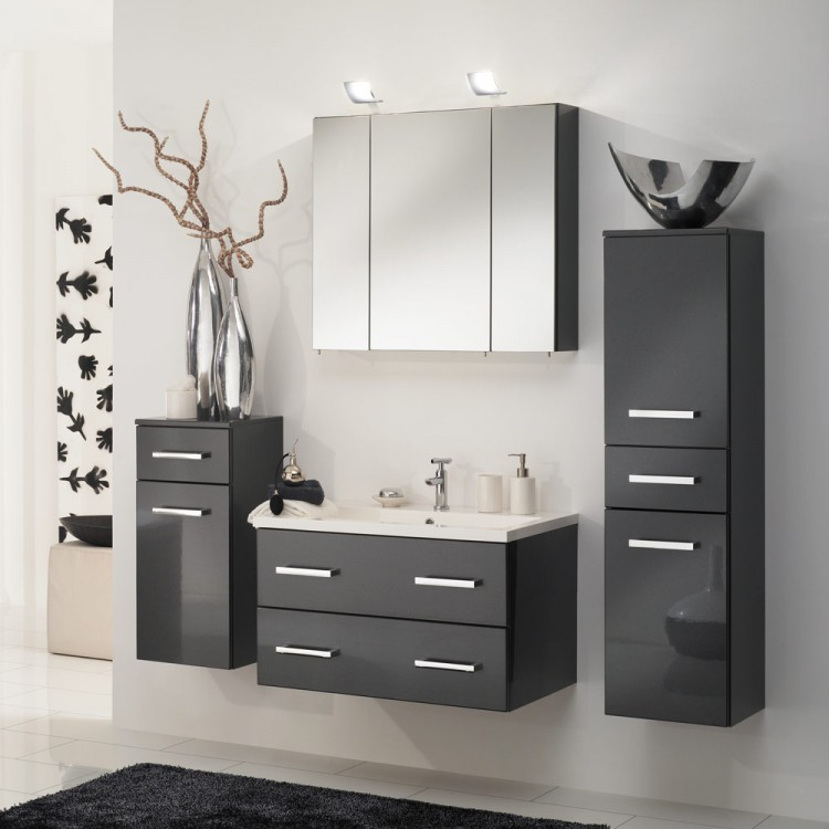 waschtisch montreal inkl becken 80cm kaufen home24. Black Bedroom Furniture Sets. Home Design Ideas