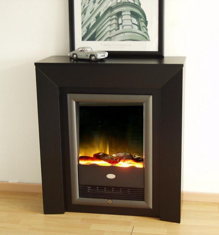 elektrokamin palm schwarz home24. Black Bedroom Furniture Sets. Home Design Ideas