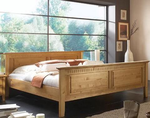 bett rodrigo massivholz home24. Black Bedroom Furniture Sets. Home Design Ideas