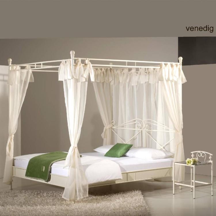 himmelbett venedig cremewei home24. Black Bedroom Furniture Sets. Home Design Ideas