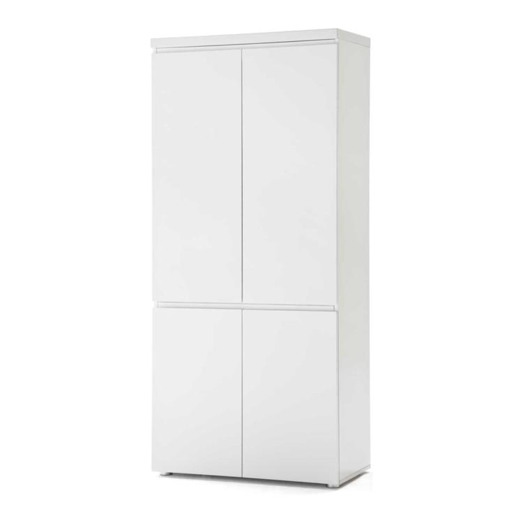 aktenschrank wei hochglanz b roschrank ordnerschrank. Black Bedroom Furniture Sets. Home Design Ideas