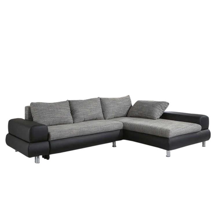 ecksofa paola mit longchair schlaffunktion home24. Black Bedroom Furniture Sets. Home Design Ideas