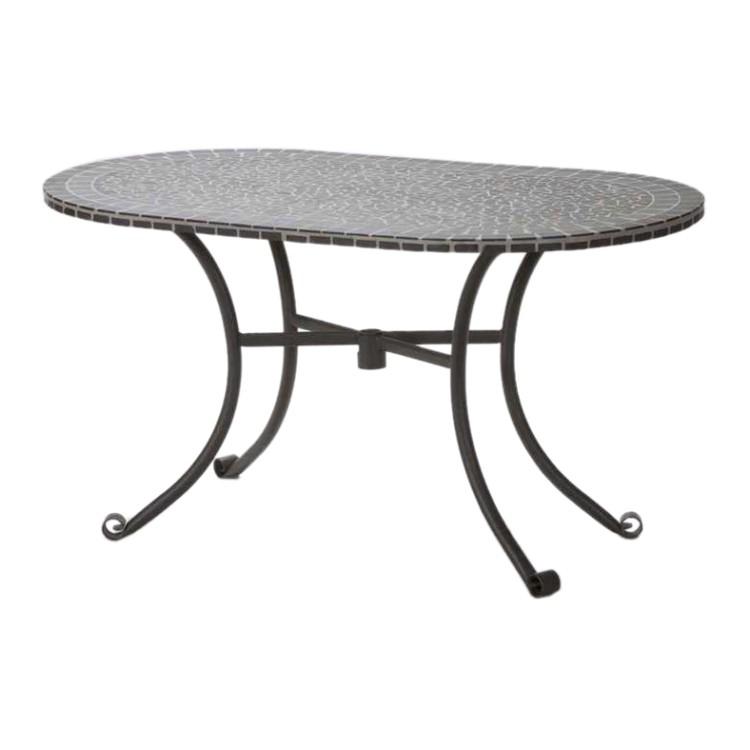 tisch pompei mit mosaikplatte home24. Black Bedroom Furniture Sets. Home Design Ideas
