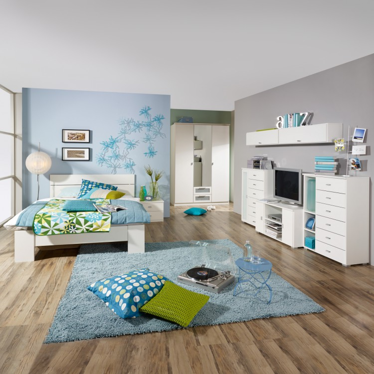 Jugendzimmer wohnwand chica 5 teilig home24 - Jugendzimmer wohnwand ...