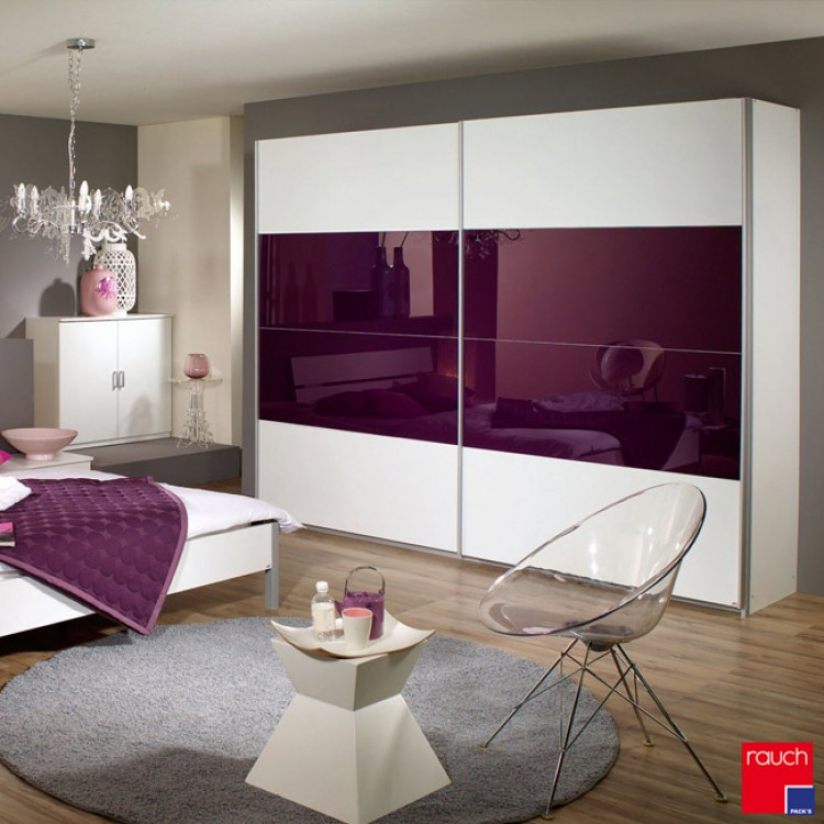 wohnideen schlafzimmer brombeere. Black Bedroom Furniture Sets. Home Design Ideas