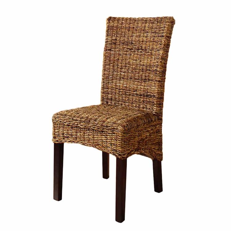 stuhl rotang abaca geflecht home24. Black Bedroom Furniture Sets. Home Design Ideas
