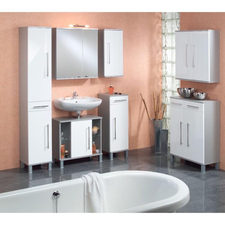 armoire glace pour salle de bain ponza. Black Bedroom Furniture Sets. Home Design Ideas