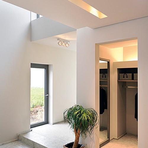 wand und deckenleuchte kalu 3 3 flammig online kaufen home24. Black Bedroom Furniture Sets. Home Design Ideas