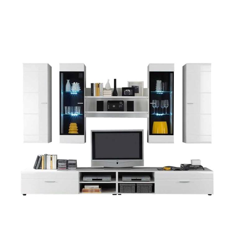 wohnwand space 7 teilig online kaufen online kaufen home24. Black Bedroom Furniture Sets. Home Design Ideas