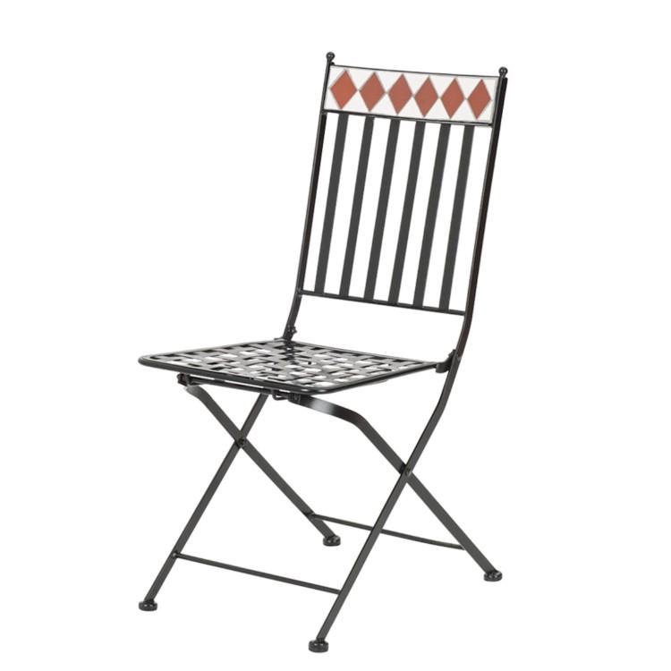 balkonset alexandria 3 teilig flachstahl keramik home24. Black Bedroom Furniture Sets. Home Design Ideas