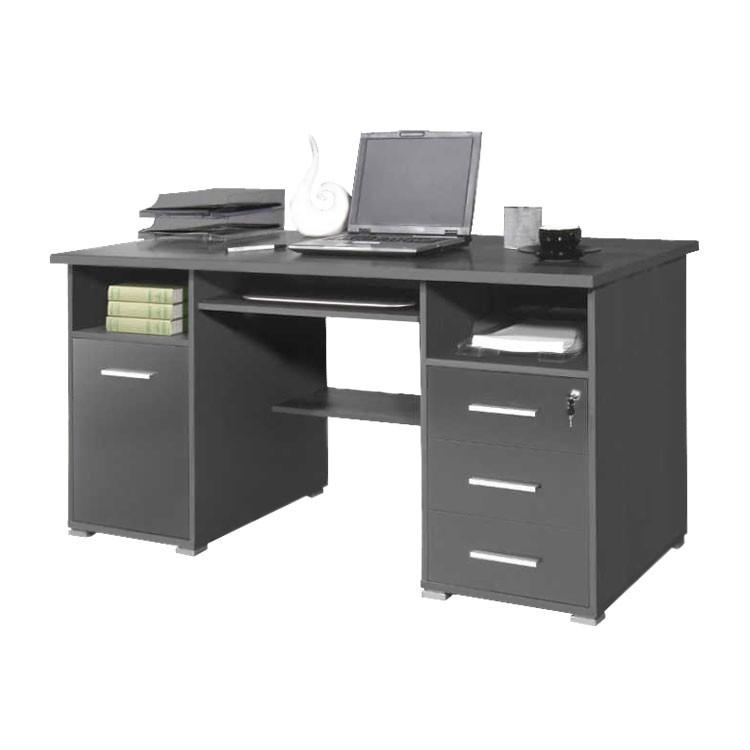 Table pour ordinateur suva avec tablette pour clavier - Bureau avec tablette pour clavier ...