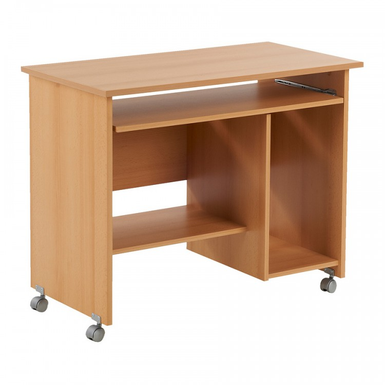 computertafel tirana beuken. Black Bedroom Furniture Sets. Home Design Ideas