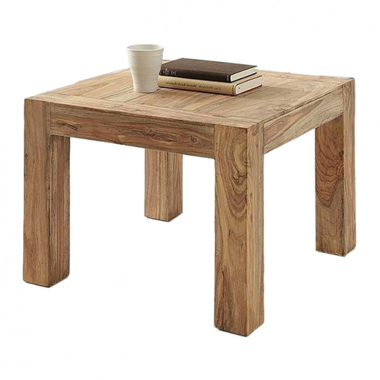 Table basse yoga sheesham en bois naturel - Table basse en bois naturel ...