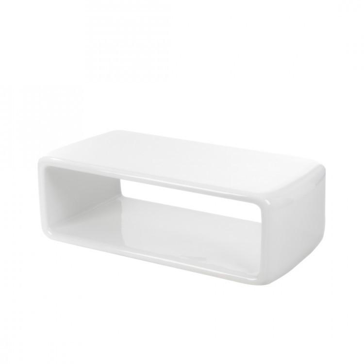 beistelltisch wei plexiglas hochglanz couchtisch. Black Bedroom Furniture Sets. Home Design Ideas