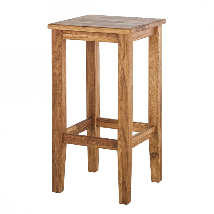 Barhocker Jazwood Eiche Massiv Home24
