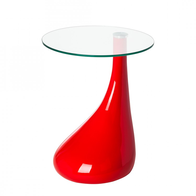 Table d 39 appoint fly rouge for Table d appoint fly