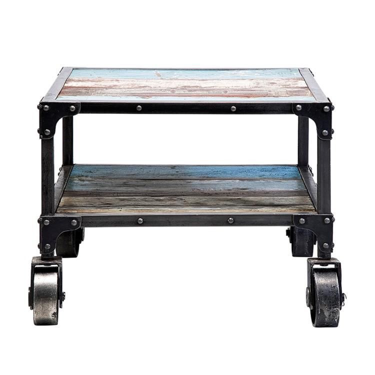 beistelltisch workshop holz metall home24. Black Bedroom Furniture Sets. Home Design Ideas