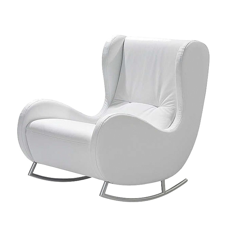 Schaukelsessel bill kunstleder home24 for Chaise bercante allaitement